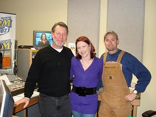 Kimberly, Dan and Dingo of WDRM- 102.1