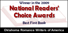 Winner in the 2009 National Readers' Choice Awards